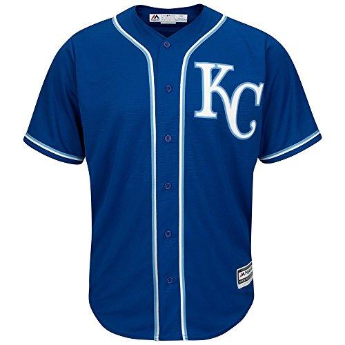Majestic Kansas City Royals Cool Base MLB Trikot Alternate Blau XXL Kansas City Royals-uniformen