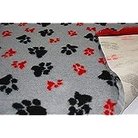 CRS Fur Fabrics Ropa de Cama Profesional no Deslizante para Perro, Veterinaria, para Cachorro