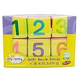 istary 6unidades bloques Juguetes de peluche suave gefüllte bloques juguete para el Aprendizaje montessori pädago gisches juguete Cube Cloth 0–12meses regalo de cumpleaños 7* 7* 7cm
