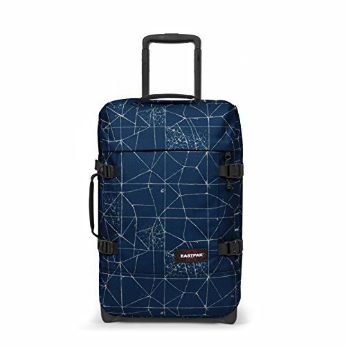 Eastpak Tranverz S Valise, 51 cm, 42 L, Bleu (Cracked Blue)