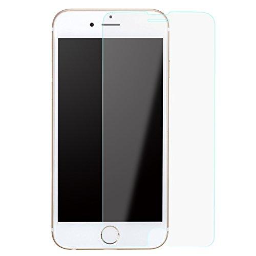 Original Binli ECHT Leder iPhone 7 Schutzhülle Aluminium Rückseite Hülle Hard Cover Flip Back Case Tasche TPU - in Schwarz Transparent