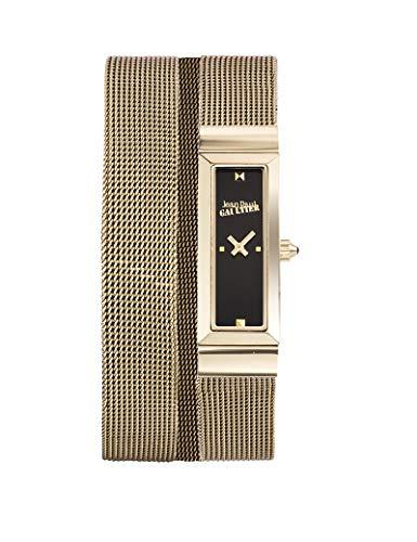 Reloj mujer JEAN PAUL GAULTIER–Cote de malla–acero PVD dorado–Pulsera malla dorado–33* 13,5mm–8503903