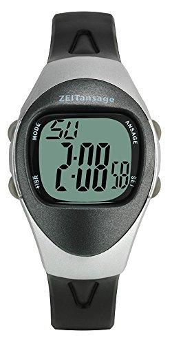 Preisvergleich Produktbild Sprechende Armbanduhr TFA-Dostmann 60.7003.54 mit digitaler Anzeige 4 Alarmzeiten