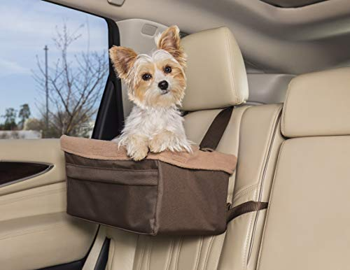 PetSafe Solvit Tagalong Sitzerhöhung, Standard, für Autos, LKW und SUV, Up to 10 lb, hautfarben