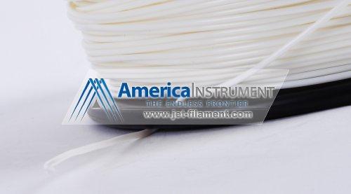 Jet – PLA (1,75 mm, couleur blanche, 1,0 kg = £ 2.204) Filament sur Bobine pour imprimante 3D RepRap MakerBot Ultimaker MakerGear & Up!