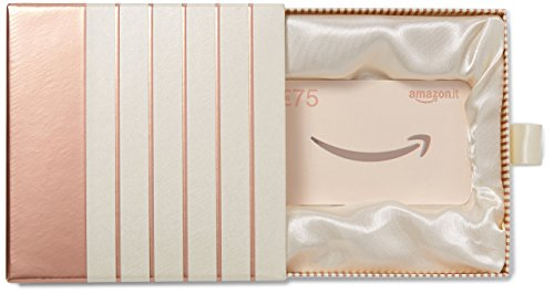 Buono regalo amazon.it - € 75 (cofanetto rosa-oro)