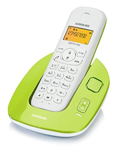 Audioline 904289 Switch 280 schnurloses DECT/GAP Telefon mit Anrufbeantworter