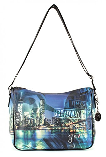 Tracolla Y Not stampa New York broadway ART.370 Multicolore