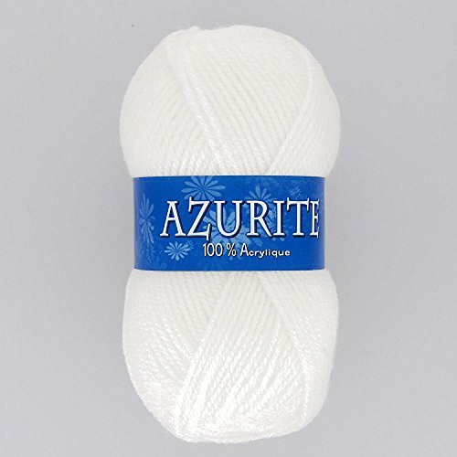 Distrifil - 10 pelotes de laine à tricoter Distrifil AZURITE 0501 pas cher 100% acrylique - 0501