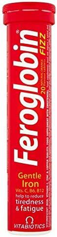 Vitabiotics Feroglobin Fizz - 20 Effervacent Tabs