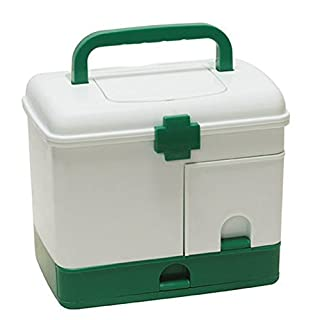 Awakingdemi Firstaid Carrying Case, Household Multi-layer Medicine Box/First Aid Kit/Storage Boxes Organizer Box & Bins Extra Large Multifunctional