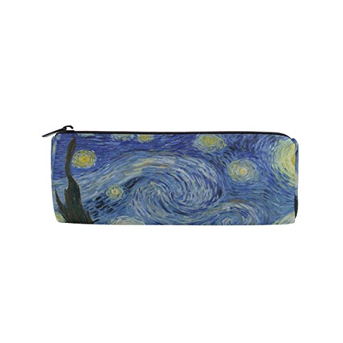 Ahomy Estuches lona estuche Van Gogh Starry noche