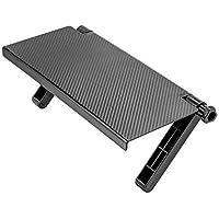 SHEMOK® 1 Pc Adjustable Non Slip TV Screen Top Storage Shelf Computer Display Storage Desk, Home Office Desktop…