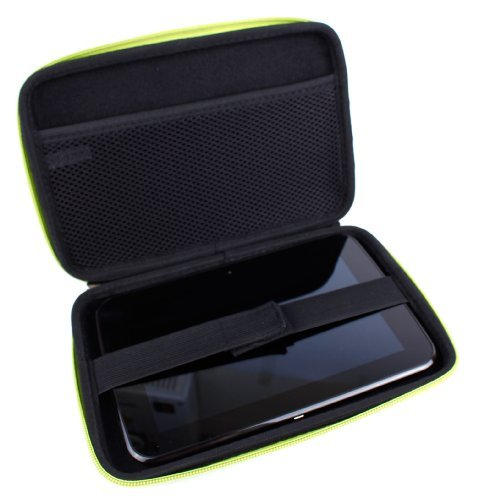 duragadget-hardwearing-lime-green-protective-shell-case-with-dual-zips-elasticated-inner-strap-for-t