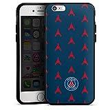DeinDesign Coque en Silicone Compatible avec Apple iPhone 6s Étui Silicone Coque Souple Paris Saint-Germain Tour Eiffel PSG