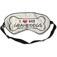 I Love My Granddog 99% Eyeshade Blinders Sleeping Eye Patch Eye Mask Blindfold For Travel Insomnia Meditation preisvergleich bei billige-tabletten.eu