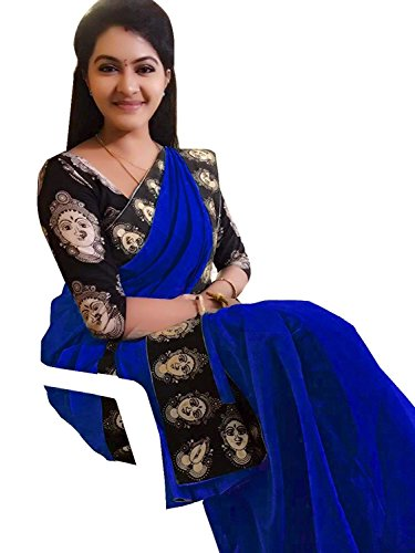Macube Women's Clothing Sarees for women latest Color Chanderi Cotton Sarees collection...