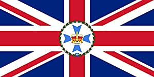magFlags Flagge: XL Governor of Queensland | Querformat Fahne | 2.16m² » Fahne 100% Made in Germany