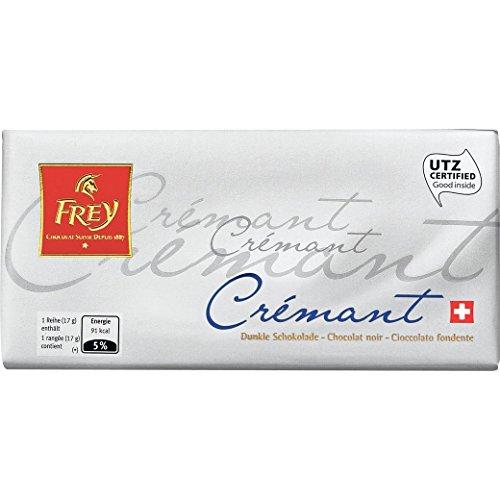 Schokolade - Dunkle Tafelschokolade - \'Crémant\' von Chocolat Frey Schweiz - 100g, aus dem Traditionshaus Frey