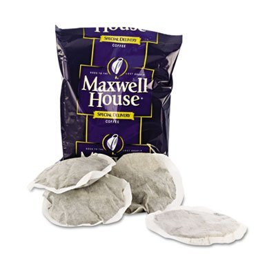 Maxwell House. 862400 Kaffee, Regular Ground, 1 1/5 Unzen Special Delivery Filter Pack, 42/Pack