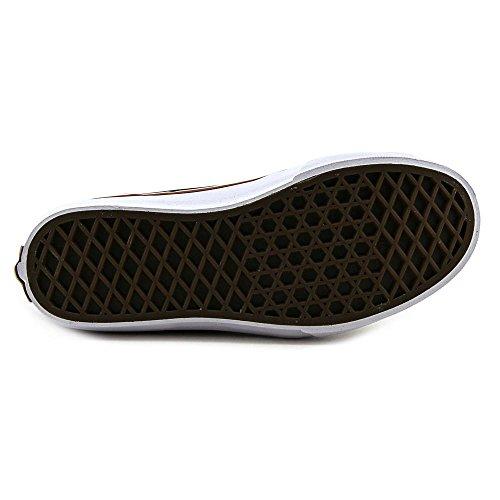 VANS - Scarpa stringata nera in camoscio e pelle, occhielli in metallo, identificata dall'iconico motivo con banda laterale in pelle bianca, Bambino, Ragazzo Black