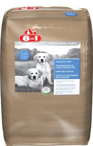 8in1 Trainingsunterlagen für Welpen und ältere Hunde (Erziehungshilfe hilft dem Welpen den Platz für sein Geschäft zu lernen), 1 Paket (30 Stück)