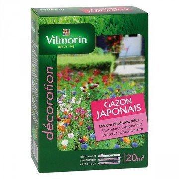 Vilmorin - Graines Gazon Japonais Boite de 500gr