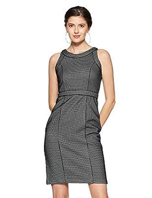 Van Heusen Women's Shift Knee-Long Dress