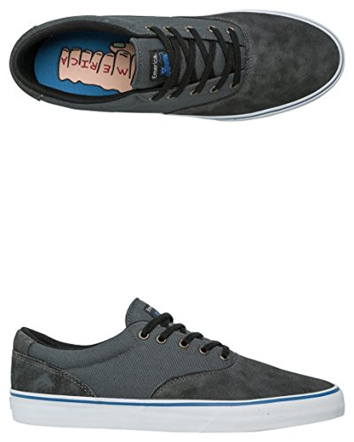 Emerica Provost Slim Vulc X Toy Machine, Skateboard homme black/grey/noir