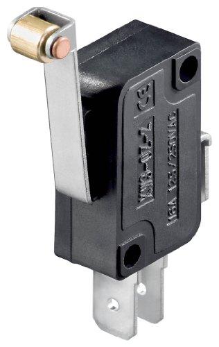 Goobay 10184 Mikroschalter - Wechselschalter/ 1 Polig schwarz - Tür-endschalter