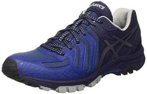 Asics Gel-Fujiattack 5, Scarpe da Trail Running Uomo, Blu (Limoges / Black / Peacoat), 43.5 EU