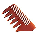 Yogogo Cyber Monday Deals&Christmas,Portable Beard Comb Double-Sided Oil Head Comb Men's Shaving Anti-Static Brush