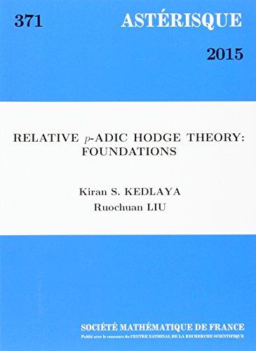 Relative P-adic Hodge Theory: Foundations