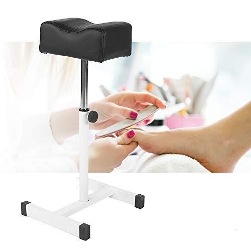 Stuhl, maniküre stuhl, Höhenverstellbar Nagel Fußstütze für Fußpflege, Beinauflage, Füße behandeln(Schwarz) - Fuß Beinauflage
