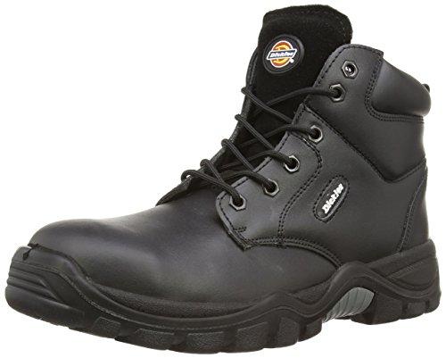 Dickies Newark Sicherheitsstiefel S3 kastanienbraun CT 7, FA9003 schwarz