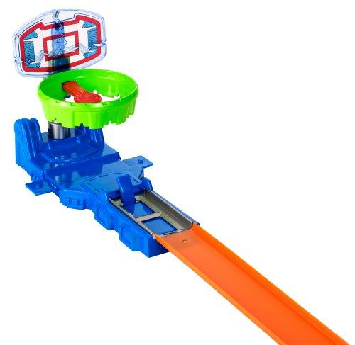 Mattel Hot Wheels Hoop Shot Track Builder