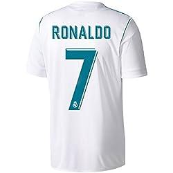 Real Madrid casa camiseta de Ronaldo No720172018, hombre, blanco