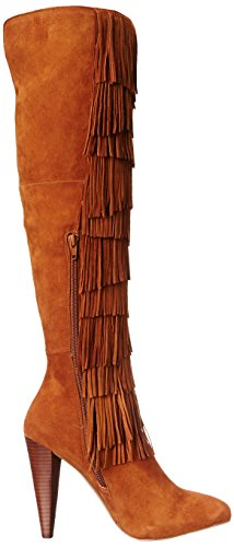 Steve Madden Maraka occidentale Boot Chestnut Suede