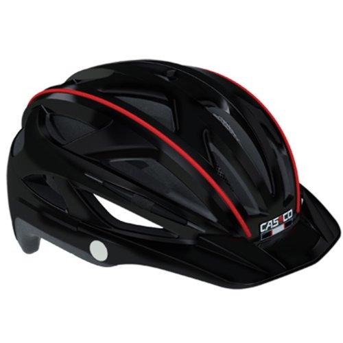 CASCO Active-TC schwarz Life Reflektor Fahrradhelm Helm Bike Cityhelm Trekking City, 04.0802, Größe S/M 52 - 58 cm