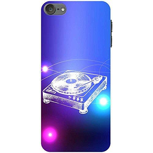 Lineart DJ-Decks Turntables Hartschalenhülle Telefonhülle zum Aufstecken für Apple iPod Touch 6th Generation