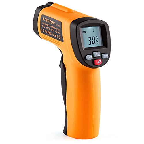 Laser Infrarot Thermometer Kingtop Digital Bratenthermometer -50°C~550°C