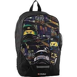 LEGO Bags LEGO Bags Schulrucksack, Rucksack Nur 350 g, Schultasche mit Lego Ninjago Motiv Mochila Escolar 40 Centimeters 16.5 Azul (Urban)