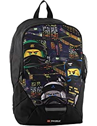 LEGO Bags LEGO Bags Schulrucksack, Rucksack Nur 350 g, Schultasche mit Lego Ninjago Motiv Mochila Escolar 40 Centimeters 16.5 Azul…