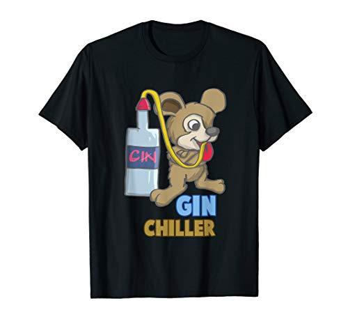 Mallorca Gin Chiller Lustiges Sauf Gin Malle Party T Shirt - Flasche Chiller