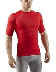 Sub Sports Herren RX Abgestufte Kompressionsshirt Funktionswäsche Base Layer kurzarm