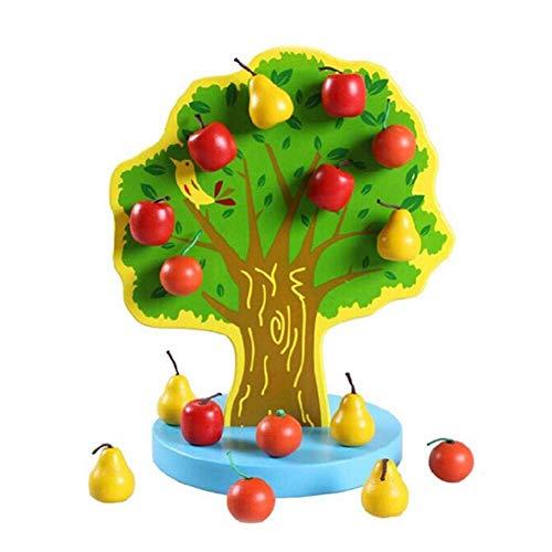 Baum Spielzeug Mit Magnetischen Birnen Für Obst Garten Bündelobst Baum Kinder ()
