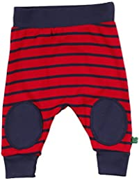 Fred's World by Green Cotton Baby Stripe Funky Pants Trousers, Blue (Nocturne 641), 9-12 Months