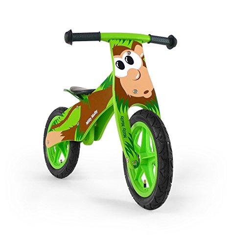 Draisienne - vélo en bois pour bébé - vélo de marche sans pedale Bicycle de balance,...