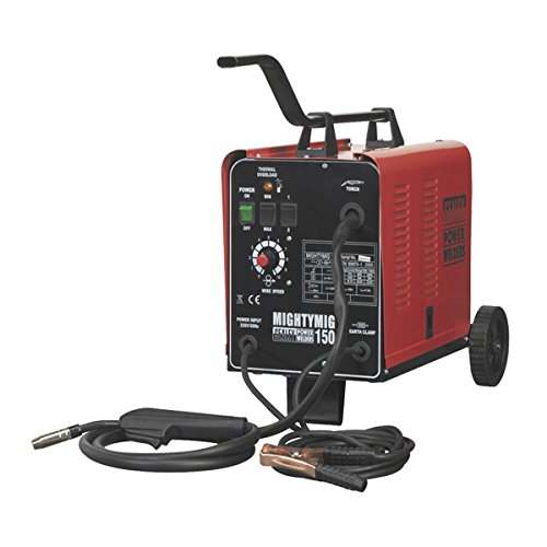 Sealey MIGHTYMIG150 230V 150A Professional MIG Welder Test