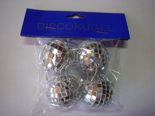 4 Discokugeln - 4 cm Durmesser